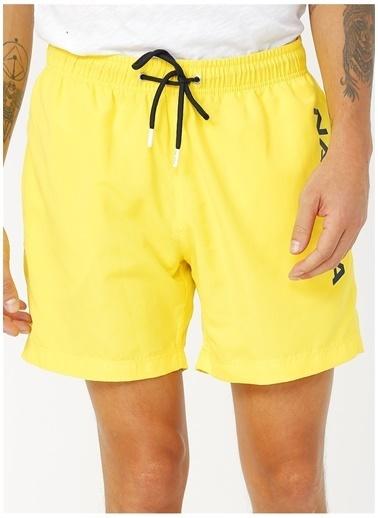 Nautica Nautica Sarı Şort Mayo Sarı
